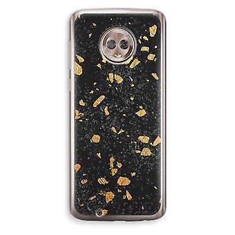 Motorola Moto G6 Transparent Case (Soft) - Terrazzo N°7
