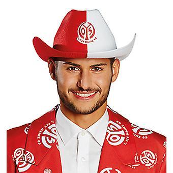 1. FSV Mainz 05 Cowboyhut Unisex für Erwachsene