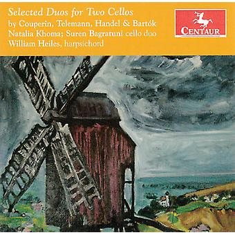 Couperin/Khoma/Bagratuni/Heiles - Selected Duos for Two Cellos [CD] USA import