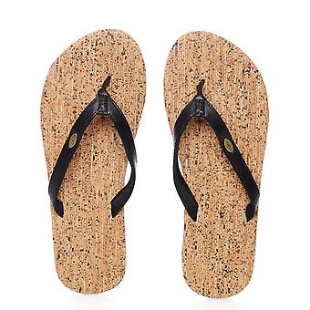 Oneill Black Out SP17 Cork Bed Womens Flip Flop
