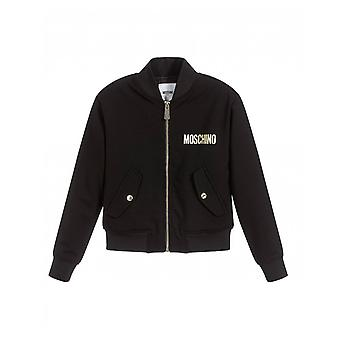 Moschino Sequin Toy Logo Bomber Jacket