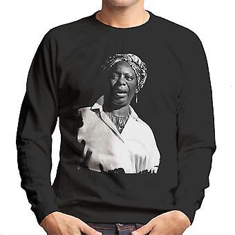 Nina Simone At The Royal Albert Hall 1998 Men's Sweatshirt