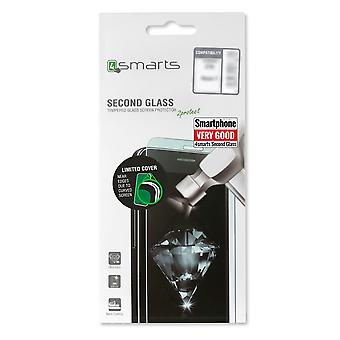 Second glass limited cover for Nokia 6 tempered glass 9 H 0, 3mm protection shock film