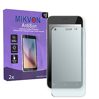 Archos 50 Helium Plus 4G Screen Protector - Mikvon AntiSun (Retail Package with accessories)