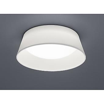 Trio Beleuchtung Ponts modernen weißen Stoff Deckenleuchte