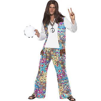 Groovy Hippie Costume, Chest 38