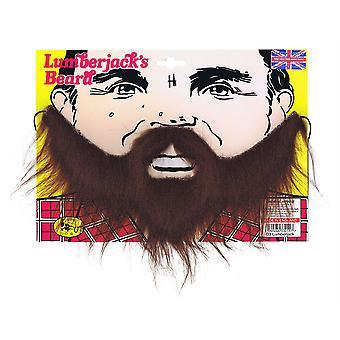 Barba de lenhador. Brown.