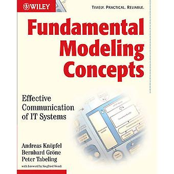Concepts de modélisation fondamentale - une Communication efficace des systèmes informatiques