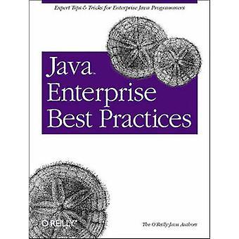 Java Enterprise Best Practices by Robert Eckstein - 9780596003845 Book