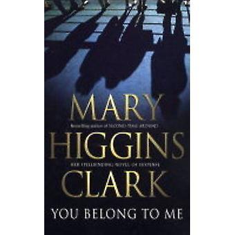Você Me pertence (re-edição) por Mary Higgins Clark - livro 9780743484329