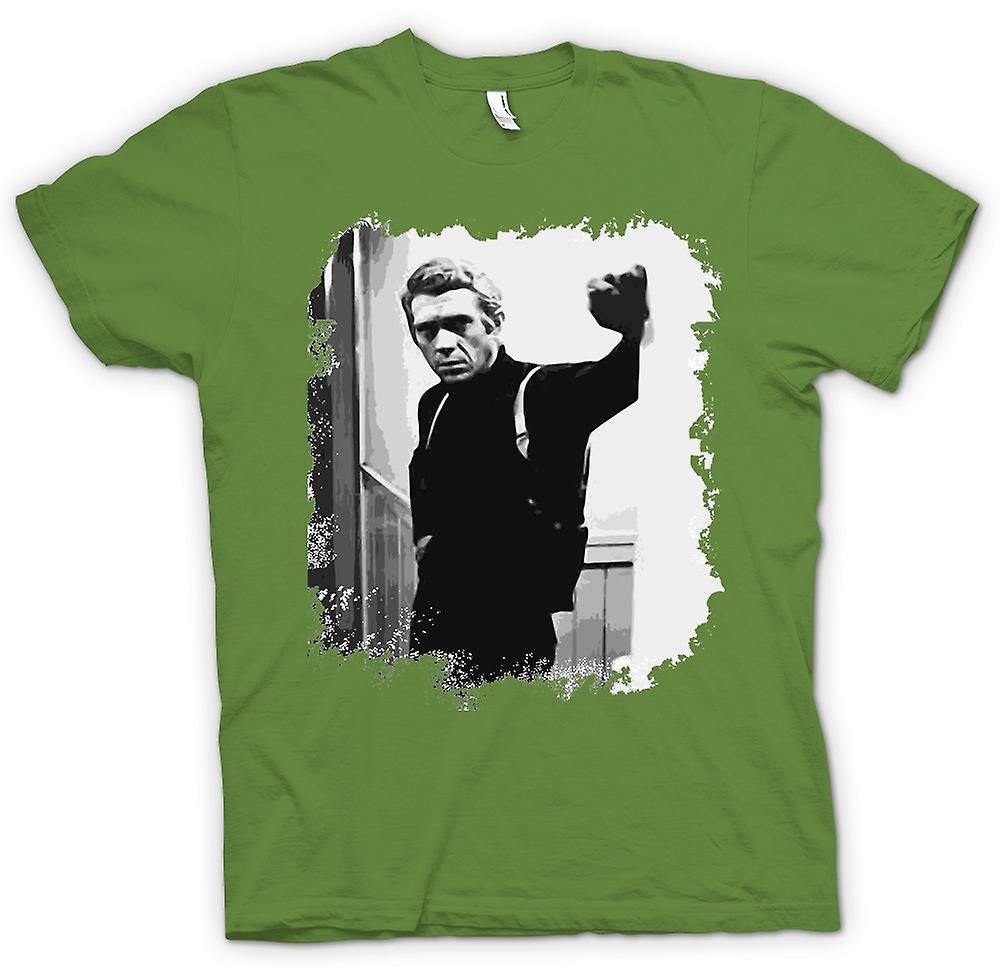 Mens T-shirt - Steve Mcqueen - Bullit - Retro