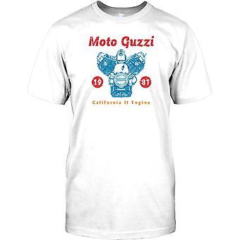 Moto Guzzi 1981 Californië - klassieke Italiaanse fiets Kids T Shirt