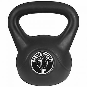 Gewicht Kettlebell 10 kg Kunststoff
