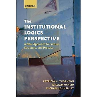 De institutionele logica perspectief: Een nieuwe benadering van cultuur, structuur en proces