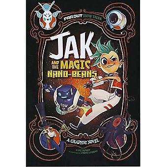 Jak en de magische Nano-bonen: een Graphic Novel (veel uit sprookjes)