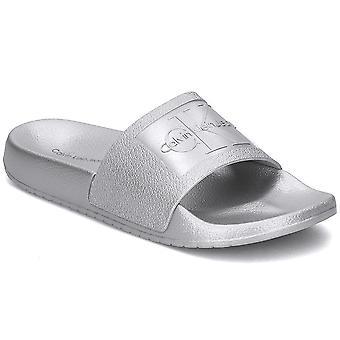 Calvin Klein Jeans RE9854SILVER vrouwen schoenen