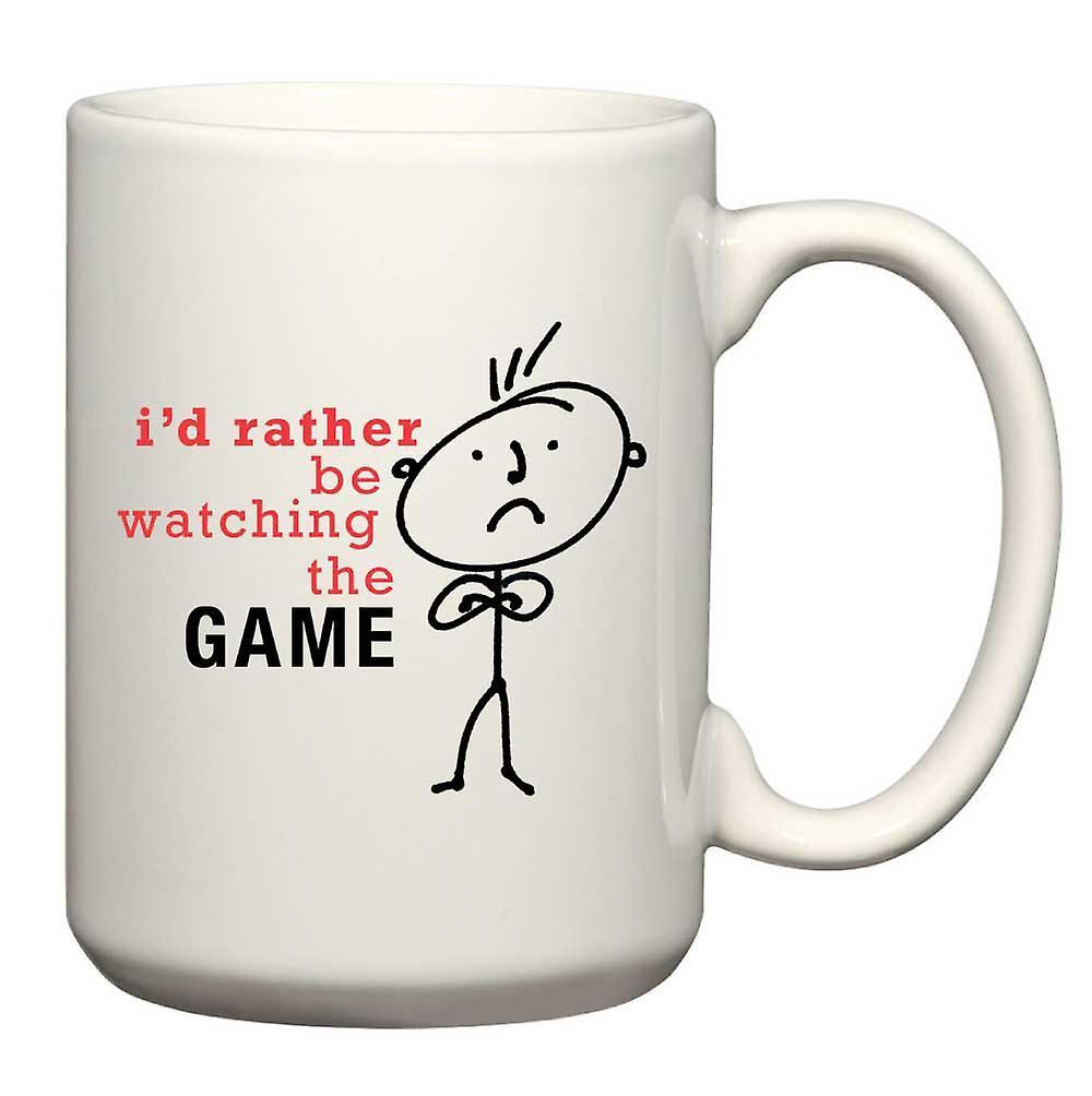 Mens Game Watching Mug Be The Rather Man I'd OuTkZwPiX
