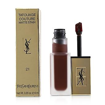 Yves Saint Laurent Tatouage Couture Matte Fleck - # 21 Burgund Instinkt - 6ml/0,2 oz