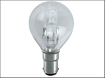 Eveready Lighting G45 ECO Halogen Bulb 42 Watt (54 Watt) SBC/B15 Small Bayonet Cap Box 1