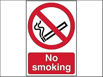 Scan No Smoking - PVC 400 x 600mm