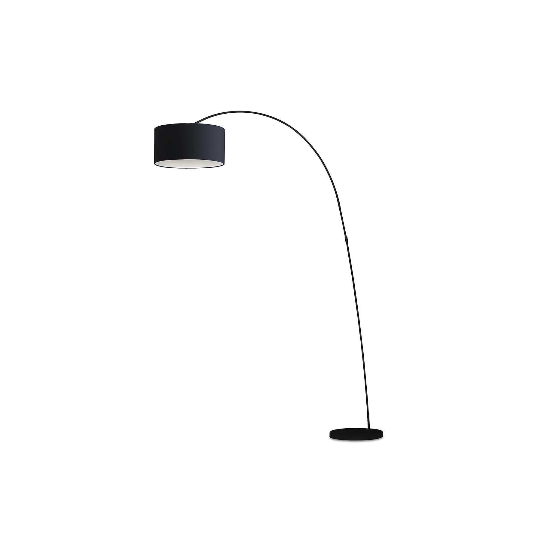 Faro - Papua noir Floor Lamp With Shade FARO68463
