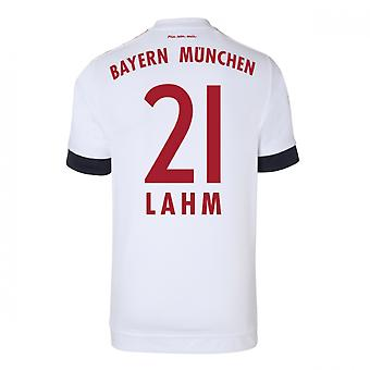 2015-16 Bayern Munich Away Shirt (Lahm 21) - Kids