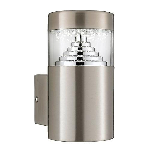Searchlight 7508 Led Outdoor Stainless Steel Wall Bracket Square Back Plate IP44