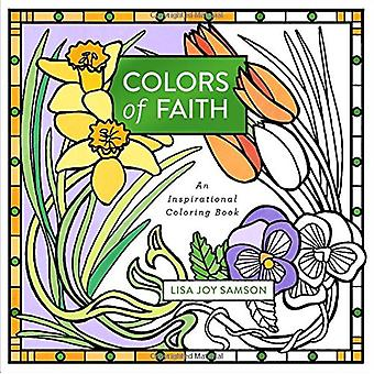 Colors of Faith - An Inspirational Coloring Book by Lisa Joy Samson -