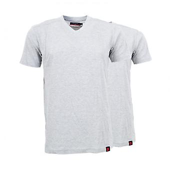 2-Pack Pierre Cardin mens T-Shirt grey