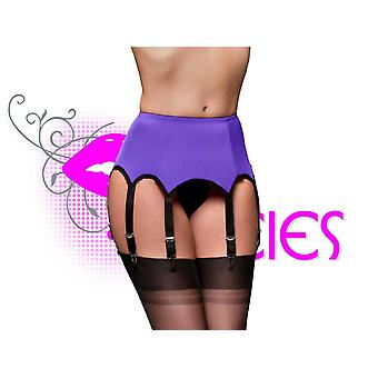 Nancies Lingerie Lycra 8 Suspender / Garter Belt for Stockings (NL3p)