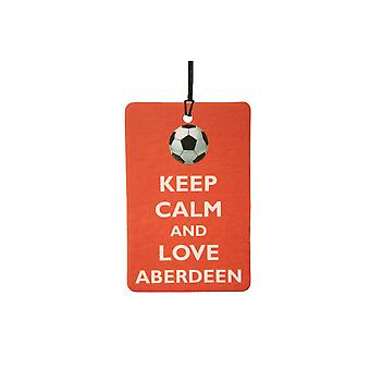 Mantener la calma y amor ambientador de aire del coche Aberdeen