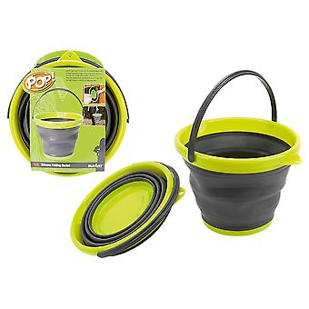 Summit Collapsible FOLD-FLAT BUCKET - 10L