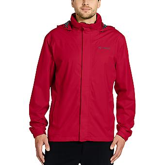 Vaude Escape Bike Light Rain Jacket - Red
