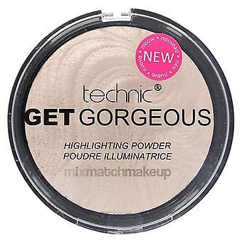 Technic Get Gorgeous Highlighting Powder ~ Original
