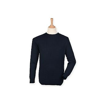 Front row cable crew neck jumper fr700