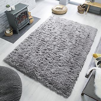 Os tapetes cinzentos do retângulo de Orso lisos/quase planície tapetes