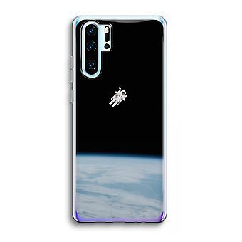 Huawei p30 pro caso transparente (Soft)-sozinho no espaço