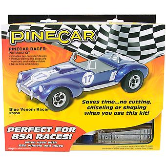 Pine Car Derby Racer Kit Blue Venom P3950
