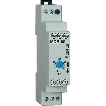 ENTES MCB-60 Time Delay Relay, Timer, SPDT-CO (8 A) 24 V/AC/DC/230 V/AC IP40