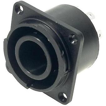 Mains connector Series (mains connectors) FC Socket, vertical vertical Total number of pins: 8 10 A Black Cliff FCR2074