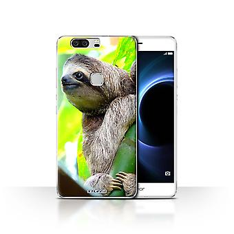 STUFF4 Case/Cover for Huawei Honor V8/Sloth/Wildlife Animals