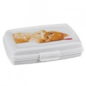 Curver Snap Box 1.0 S Petlife Cats White