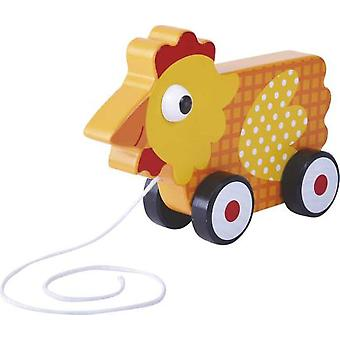 CPA Gallina Wood Wheel (Toys , Preschool , Babies , Push And Pull Toys)