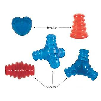 Camon Tpr Mongoose Squeaker / 2 Heads (Dogs , Toys & Sport , Chew Toys)