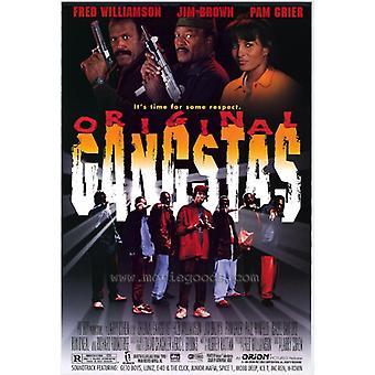 Original Gangstas Movie Poster Print (27 x 40)