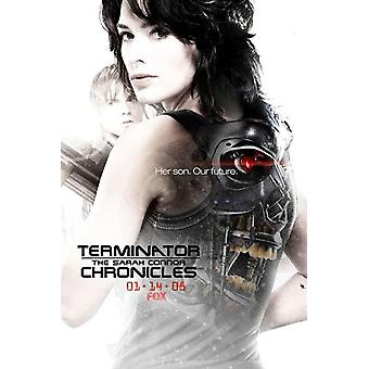 Terminator The Sarah Connor Chronicles - style AZ Movie Poster (11 x 17)