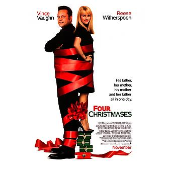 Four Christmases Movie Poster Print (27 x 40)