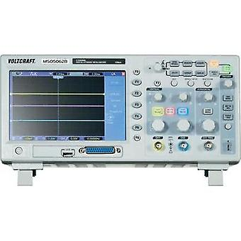 Digital VOLTCRAFT MSO-5062B 60 MHz 18-channel 1 null 512 null 8 Bit Digital storage (DSO), Mixed signal (MSO)