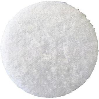 Hook-and-loop stick-on dot stick-on Hook pad (Ø) 35 mm White Fastech T02035000003C1 1 pc(s)
