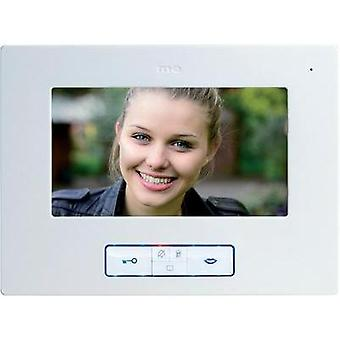 Video door intercom Corded Indoor panel m-e modern-electronics Vistus VD 607 White